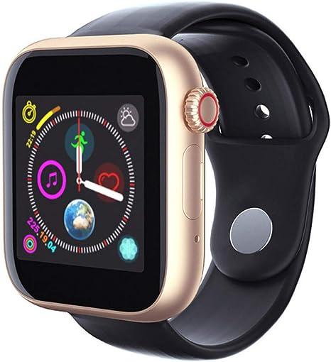 FRWPE Reloj Inteligente Tarjeta SIM Reloj Bluetooth Teléfono Audio ...