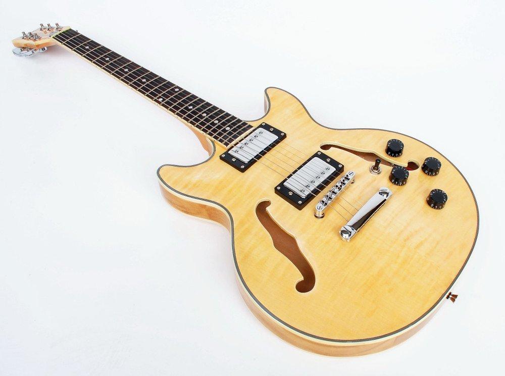 Cher rystone 4260180885835 Jazz/Blues S de guitarra semi Acoustic de N: Amazon.es: Instrumentos musicales