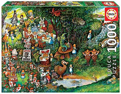 Educa Puzzle Glue - Educa 1000pc Puzzle Alice in Wonderland
