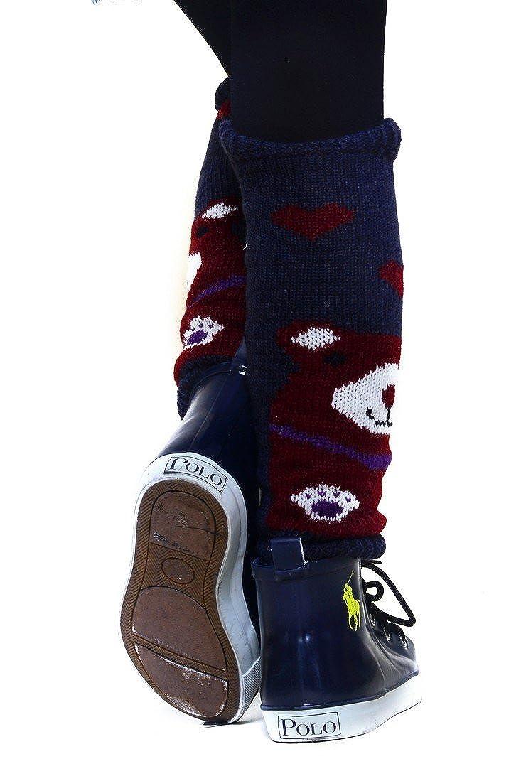 Fashion Mic Kids Fun and Cute Legwarmers Teddy Bear