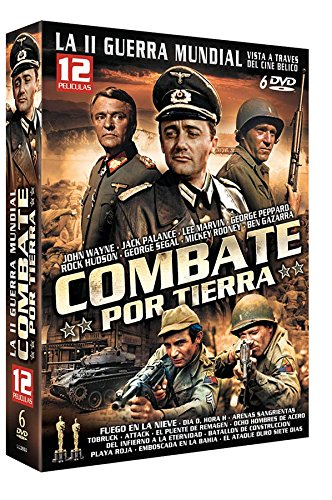 Attack + a Bridge Too Far + Breakthrough + Eight Iron Men + the Bridge At Remagen + Battleground + the Fighting Seabees + Sands of Iwo Jima + Hell to Eternity + Beach Red + the Thin Red Line + Ambush Bay [Non-usa DVD Format: Pal, Region 2 -Import- Spain]