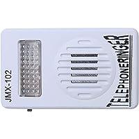TOOGOO RJ11 Adaptador Anillo de telefono ruidoso Amplificador