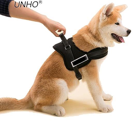 4 opinioni per UNHO® Pettorina Regolabile e Riflettente Per Cane- Premium Imbracatura con