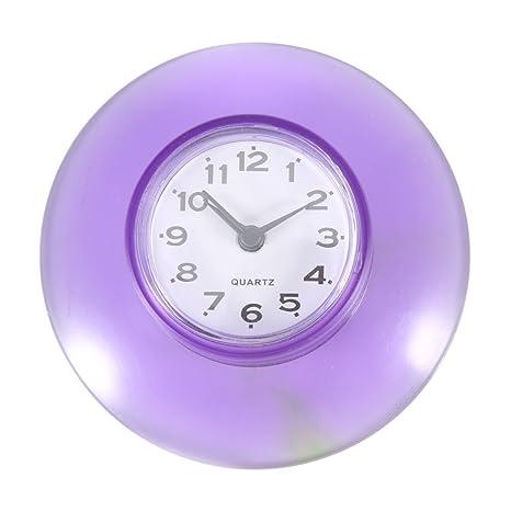 No-tictac Silent Wall Clock - Reloj Digital de Cuarzo Impermeable Mini Cute Design Cuarto