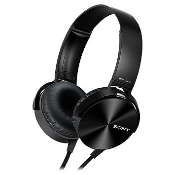 7c637c394b6 Sony MDRXB450APB.CE7 Xtra Bass Overhead Headphones: Amazon.co.uk ...