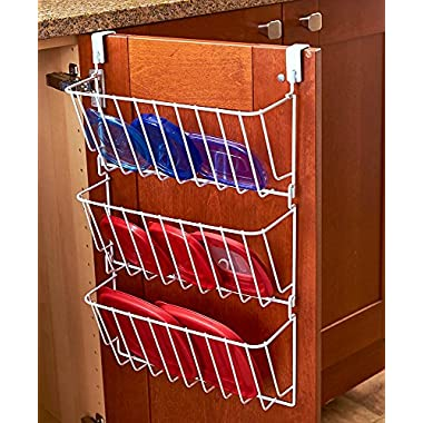 The Lakeside Collection Cabinet Lid Organizer - White