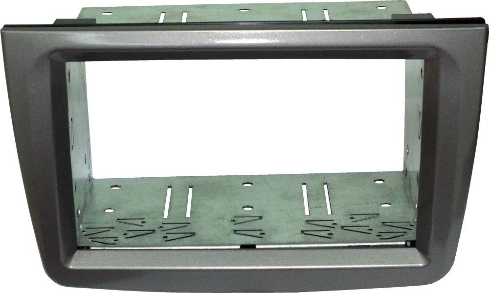 Satin Stone * Mascherina autoradio 1/DIN per OPEL ASTRA H//corsa D//Zafira B