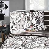 Dalmatians Disney 101 Reversible Rotary Single