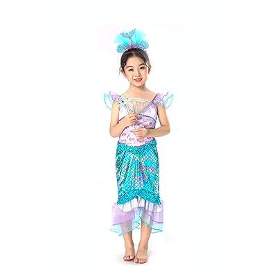 Mermaid Costume for Girls: Clothing