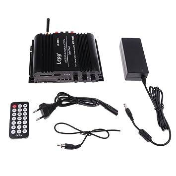 LP-269FS 4x45W Amplificador de Estéreo Audio para Coche Bluetooth USB / SD / FM