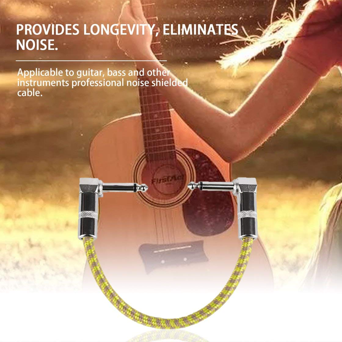 Pedal de guitarra Cable de parche Guitarra Instrumento de efecto ...