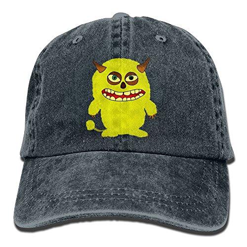 Cute Monster Baseball Caps Adult Sport Cowboy Trucker Hats Adjustable Navy By - Tx In San Antonio Mall