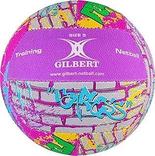 Gilbert Netball Sport supporteur Ventilateur entraînement & BALLE D'entraînement signature Balle taille 5