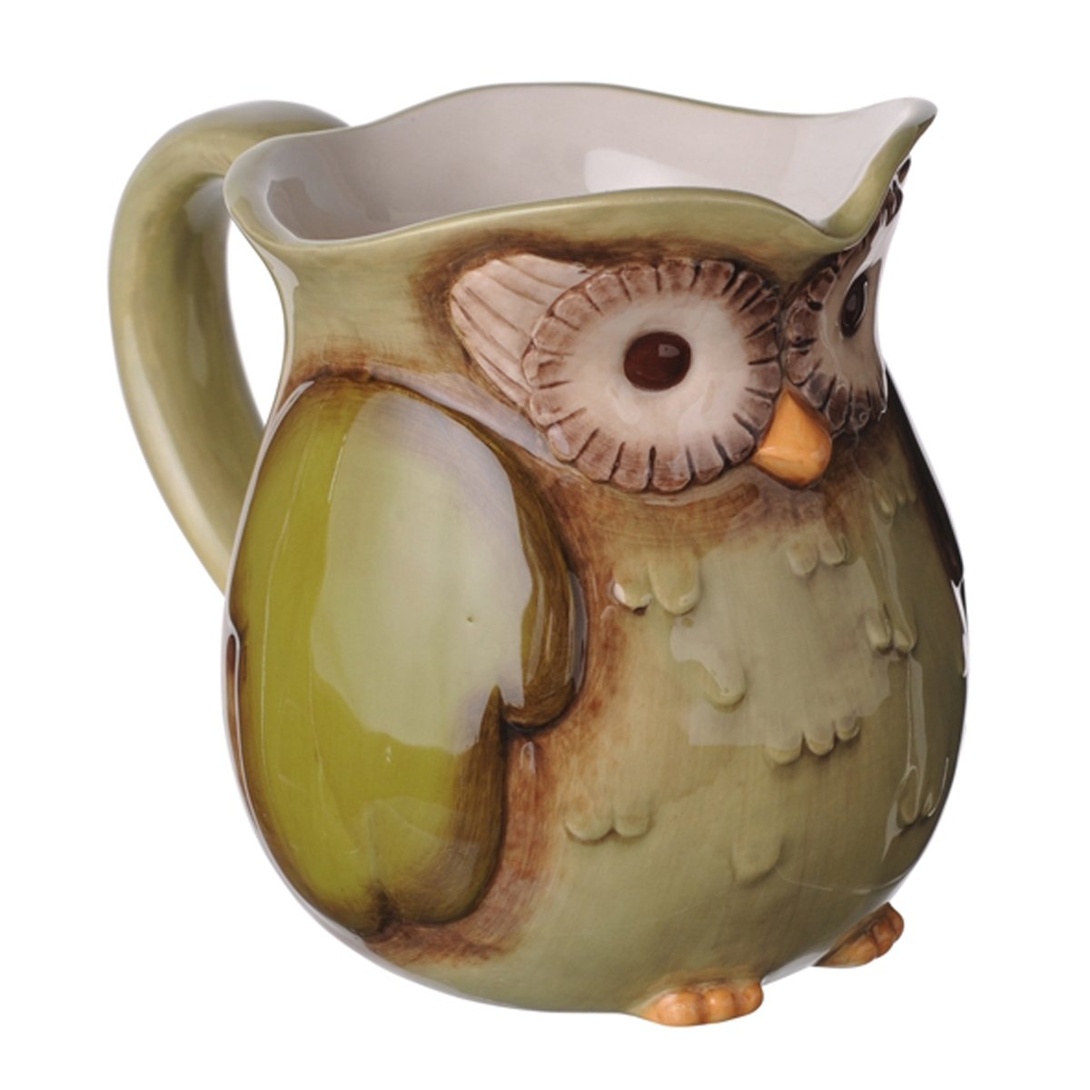 Serve Cold Beverages in This Owl Pitcher
