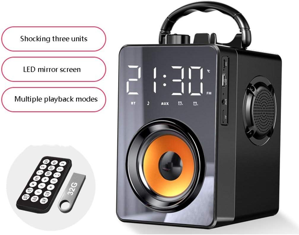 Altavoz Bluetooth De Alto Volumen Al Aire Libre Audio Portátil Inalámbrica Doméstica Pequeña Subwoofer, Bocina Bluetooth Con 360 ° Stereo Surround, Altavoces Bluetooth, Con Varios Modos De Reproducció