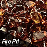 High Desert Eco Fire Glass Dots Firepit Glass 10 Pounds Great for Fire Pit Fireglass or Fireplace Glass