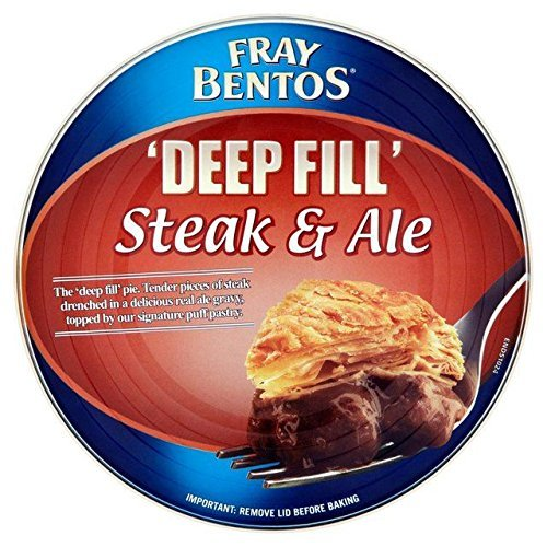 Fray Bentos Steak & Ale Pie 475g - Pack of 2 by Fray ()