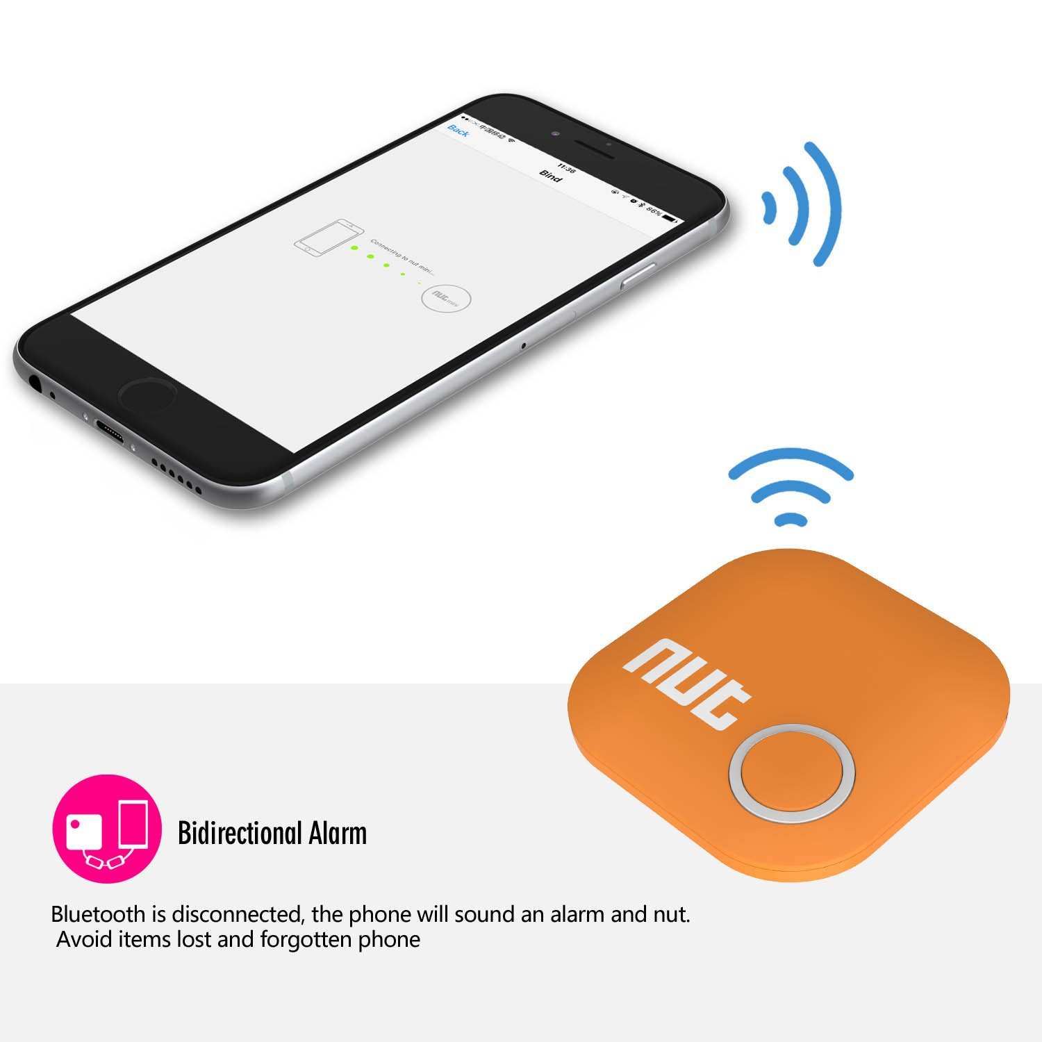 Amazon Key Finder Anti lost Tracking TWOBIU Bluetooth Smart