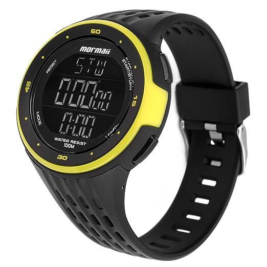 Relógio Mormaii Masculino Ref  Mo11559aa 8v Monitor Cardíaco   Amazon.com.br  Amazon Moda ee21c3f137
