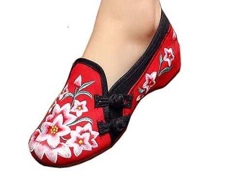 Black Temptation Zapatos chinos de diseño vintage zapatos bordados Cheongsam Shoes, 03: Amazon.es: Ropa y accesorios