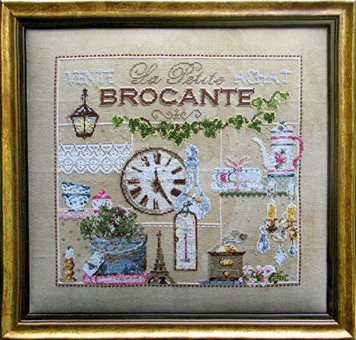 【マダムラフェ】 クロスステッチ刺繍キット 99 La Petite Brocante 蚤の市 (DMC刺繍糸) B01J5A1112