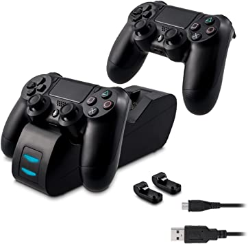 kwmobile Estación de Carga rápida Compatible con Playstation 4: Amazon.es: Electrónica