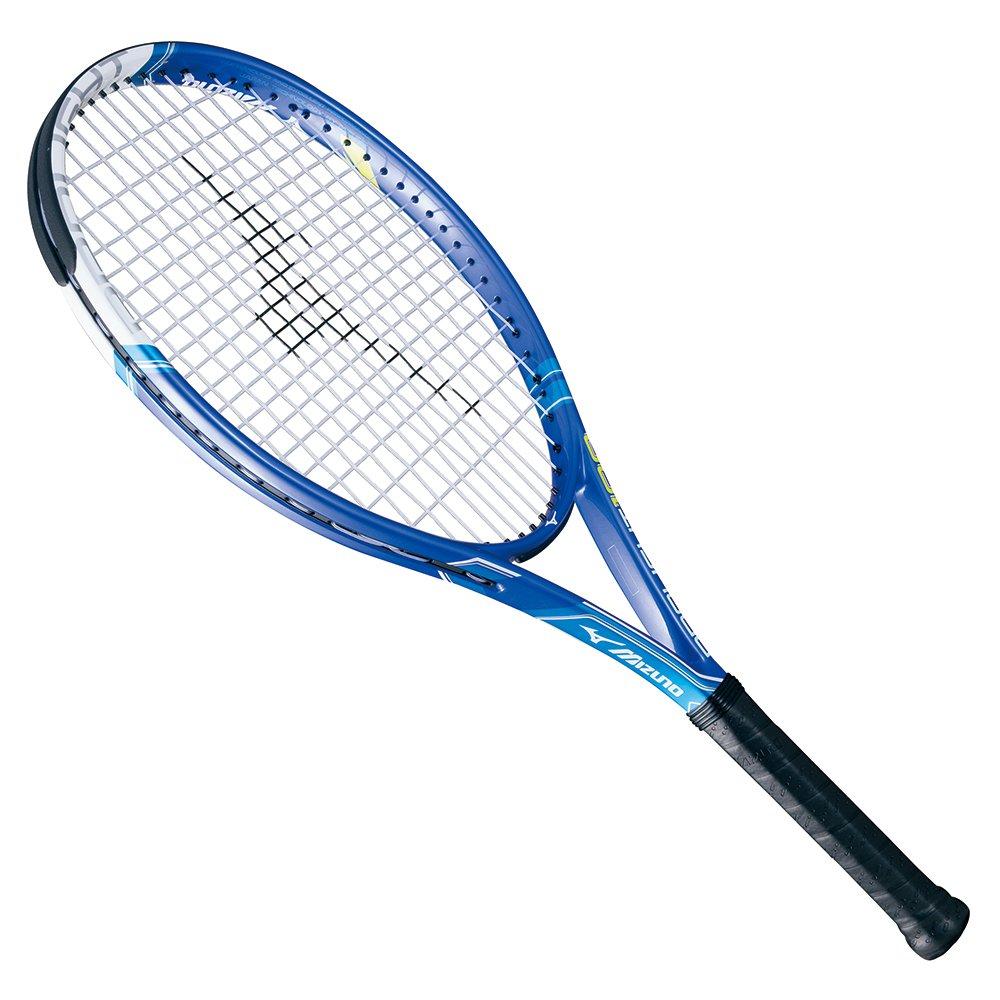 MIZUNO(ミズノ) テニスラケット PRO LIGHT 100 ガット張上げ済み 63JTH644  ブルー B01CRVRZHA