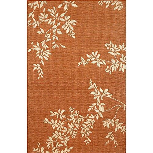 Liora Manne Terrace Vine Rug, Indoor/Outdoor, 4-Feet 11-Inch by 7-Feet 6-Inch, ()
