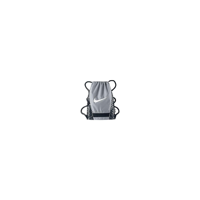 cee95d6cbe2d Amazon.com  New Nike Brasilia Gymsack DS Bag Black Black White  Sports    Outdoors