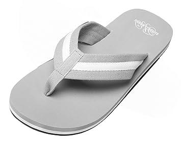 Urban Classics Sandalen/Zehentrenner Beach Slippers TB304, Groesse Eur:36, Farbe:grey/white