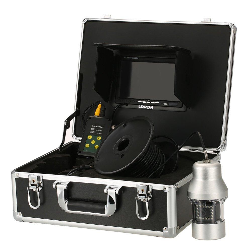 100%安い Lixada イプライン検査カメラ 防水 排水管 下水道検査カメラ 18 LEDナイトビジョン パ工業用内視鏡検査システム 防水 7インチ液晶モニター/ B077PXM95P 20/ 50/ 100メートルケーブル (100mケーブル付き) B077PXM95P 100mケーブル付き, ナタショウムラ:6b0e94e0 --- a0267596.xsph.ru