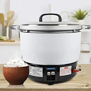 Natural Gas Rice Cooker Commercial Rice Cooker Pot Large Capacity Kitchen Cooker Diner Use (7L)
