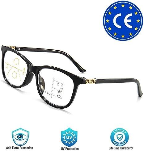 Amazon Com Lee Boya Progressive Multifocus Reading Glasses Blue