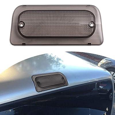 3rd Brake Light Lens for 1994-2004 Chevy GMC S-10 S10 Sonoma Regular Cab or Crew Cab Genuine RHA High Smoke Third Brake: Automotive
