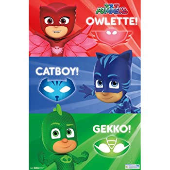 Trends International PJ Masks Trio Wall Poster 22.375