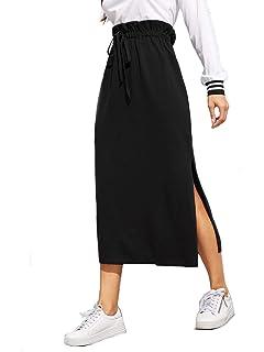 872da1eaad Amazon.com: Amazon Brand - Meraki Women's Rib Maxi Skirt: Clothing