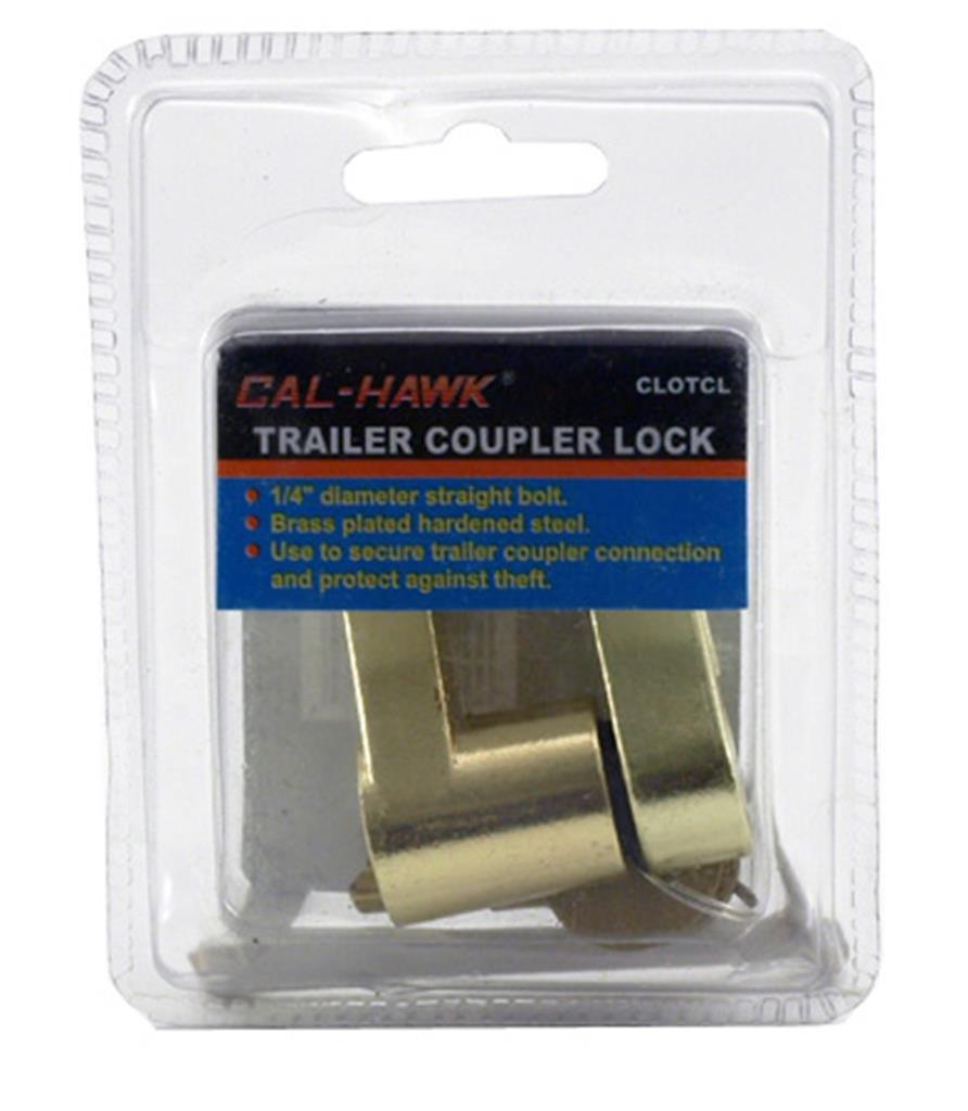 Cal Hawk Tools CLOTCL Trailer Coupler Lock