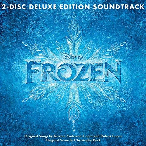 Frozen Soundtrack [Deluxe Edition] Demi Lovato Kristen Bell Brand 2013 2CDs