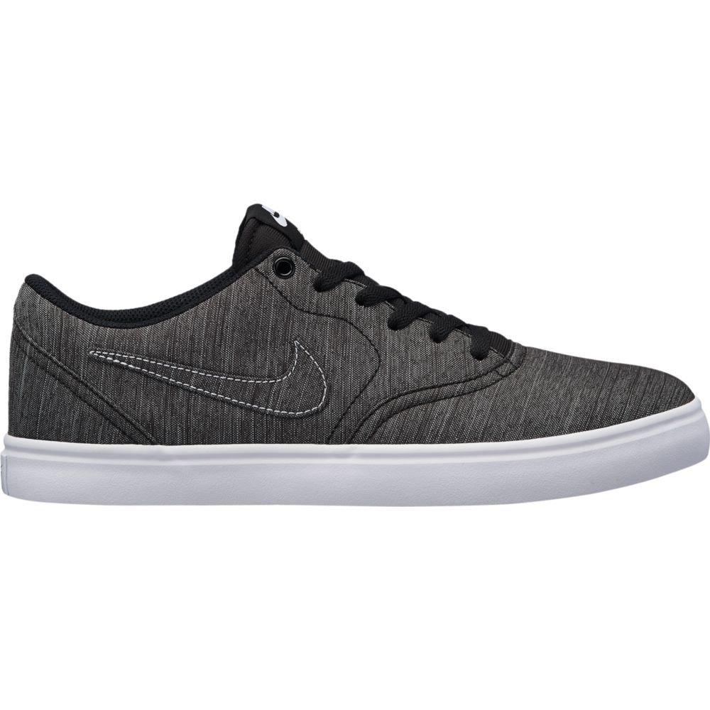size 40 e367b 9bebe Amazon.com   Nike Men s SB Check Solarsoft Canvas Premium Skateboarding  Shoes (11.5 D US) Black Black-White   Fashion Sneakers