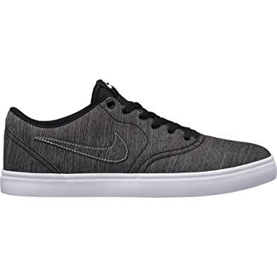 b1812d473b57 Image Unavailable. Image not available for. Color  Nike Men s SB Check  Solarsoft Canvas Premium Skateboarding Shoes (11.5 D US) Black