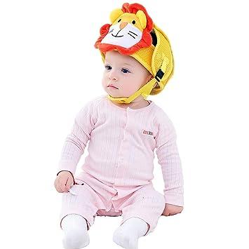 Kids Toddler Baby Safety Hat Helmet Headguard Adjustable Walk Cap Anti-Collision