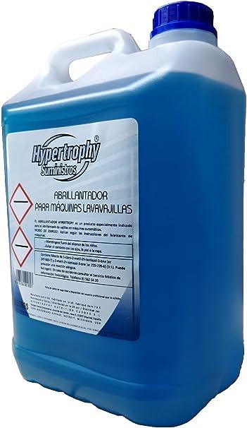 Hypertrophy - Abrillantador para máquinas lavavajillas - 5 L ...