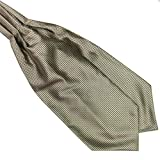 Weixinbuy Men's Ties Solid Long Silk Scarves/Cravat Ascot