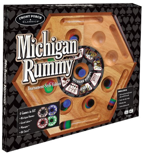 Michigan Rummy by Front Porch Classics