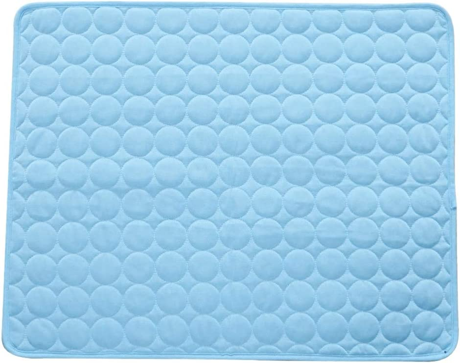 Nrpfell Summer Pet Cooling Mats Cooler Bed Mattress for Small/Medium/Large Dogs/Cats Cool Pet Sofa Cushion Dog Summer Products S