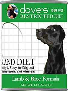 Dave's Pet Food Dog Food - Restricted Bland Diet Canned Dog Food