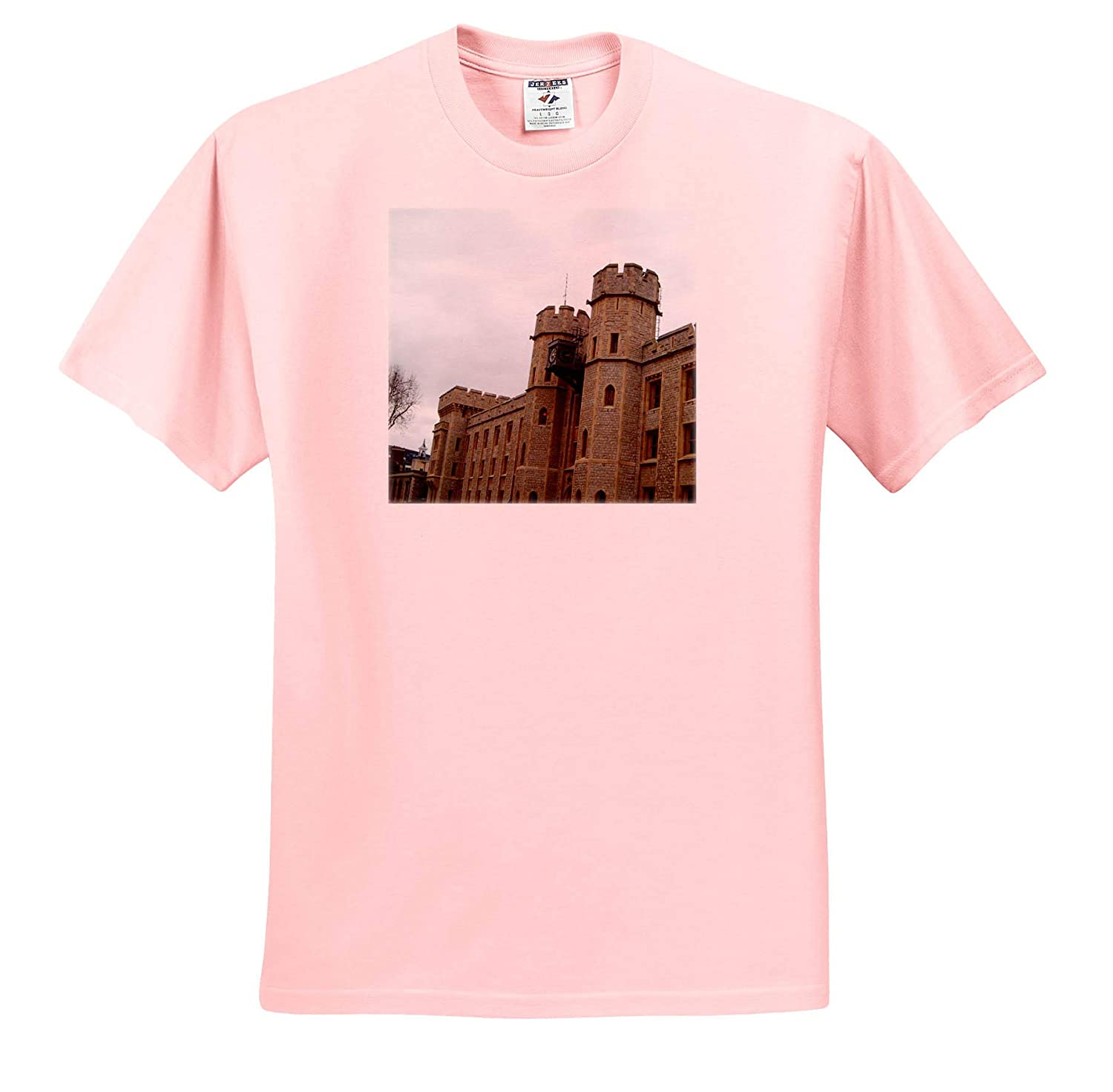 an Outside pic of The Tower of London The Tower of London T-Shirts 3dRose Jos Fauxtographee