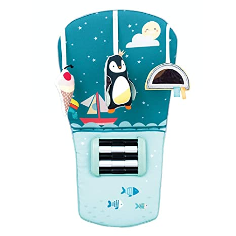 Amazon.com: Taf Toys North Pole Feet Fun Infant Car Toy Travel Activity Center for Rear Facing Baby | Parent and Babys Travel Companion, Keeps Both Relaxed ...