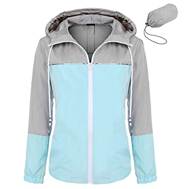 f73ca22d577d1a Image Unavailable. Image not available for. Color  ZEGOLO Women s Raincoats  Waterproof Packable Windbreaker Lightweight Active Outdoor Hooded Rain  Jacket ...
