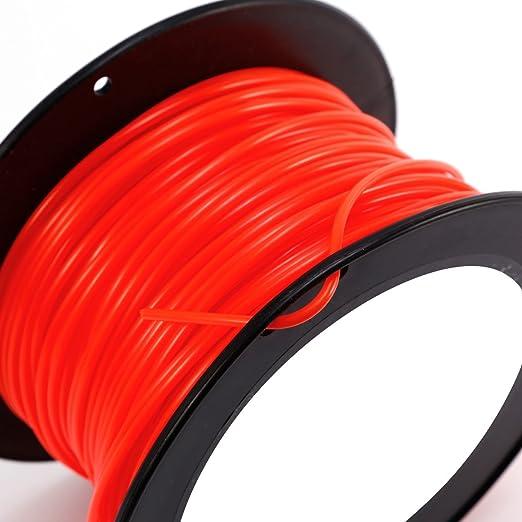 90 M hilo Nylon naranja para desbrozadora redondo 3 mm ...